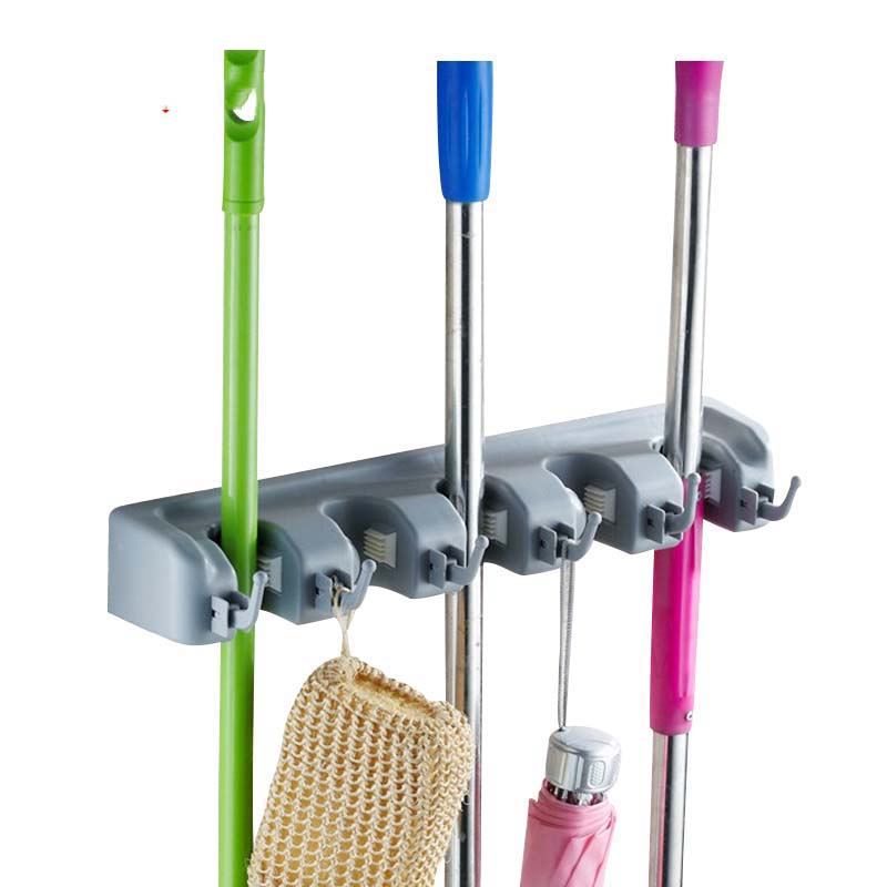 Beau Bathroom Mop Storage Holder Wall Door Umbrella Broom Racks Home Storage  Organization Accessories Supplies Products
