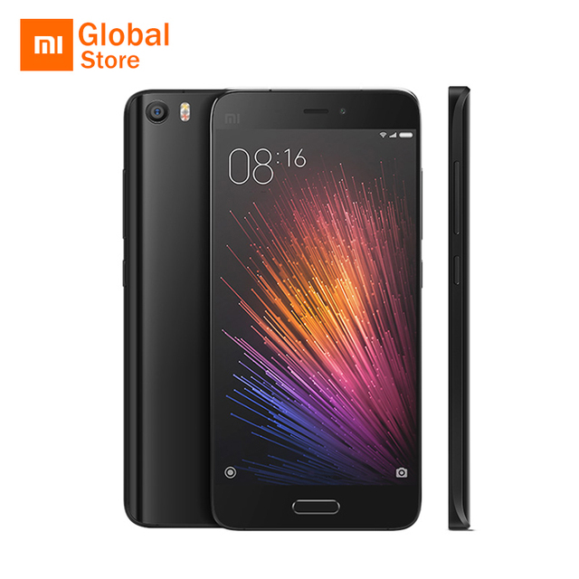 "Original Xiaomi Mi5 Prime M5 Mi 5 Mobile Phone Snapdragon 820 5.15"" FHD 3GB RAM 64GB ROM 16MP Camera Fingerprint ID"