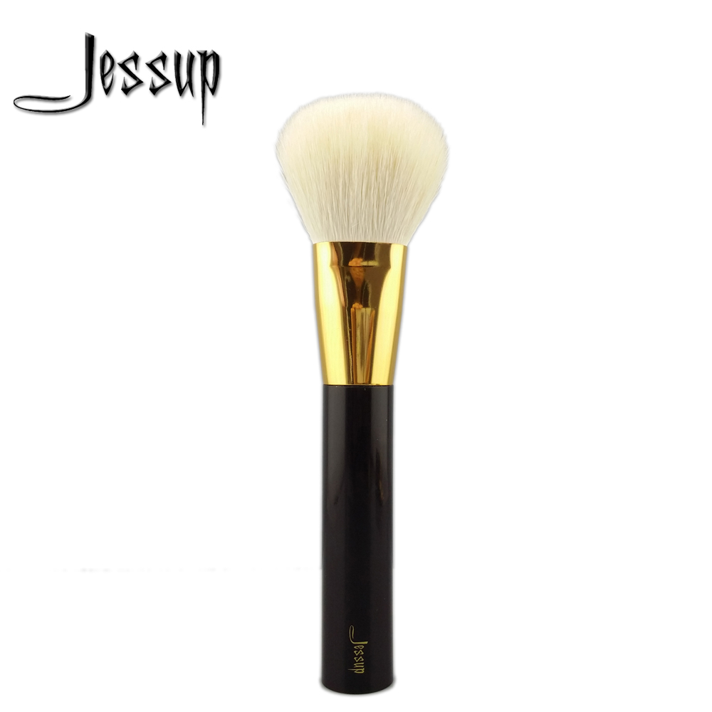 NEW Jessup Pro Makeup Set Kits Brushes makeup cosmetics brush Tool powder foundation Bronzer brush 05# Wool Hair Acrylic Handle jessup 5pcs black gold makeup brushes sets high quality beauty kits kabuki foundation powder blush make up brush cosmetics tool