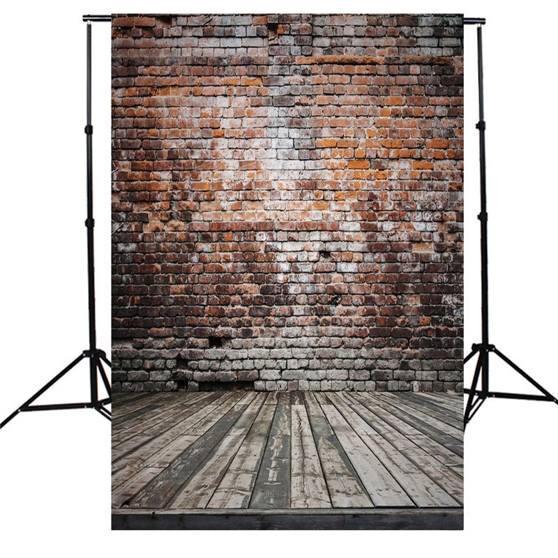 5x7ft Brick Wall Board Flood Theme Photography Background For Studio Photo Props vinyl Photographic Backdrops cloth 1.5x 2.1m sjoloon brick wall photo background photography backdrops fond children photo vinyl achtergronden voor photo studio props 8x8ft