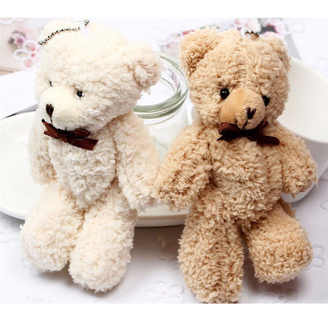 Hot Teddy Bears Brand New Soft Stuffed Plush High Quality Mini 14CM Bear Plush Pendant Children Gifts Christmas Wedding Gifts Uncategorized Decoration Stuffed & Plush Toys Toys