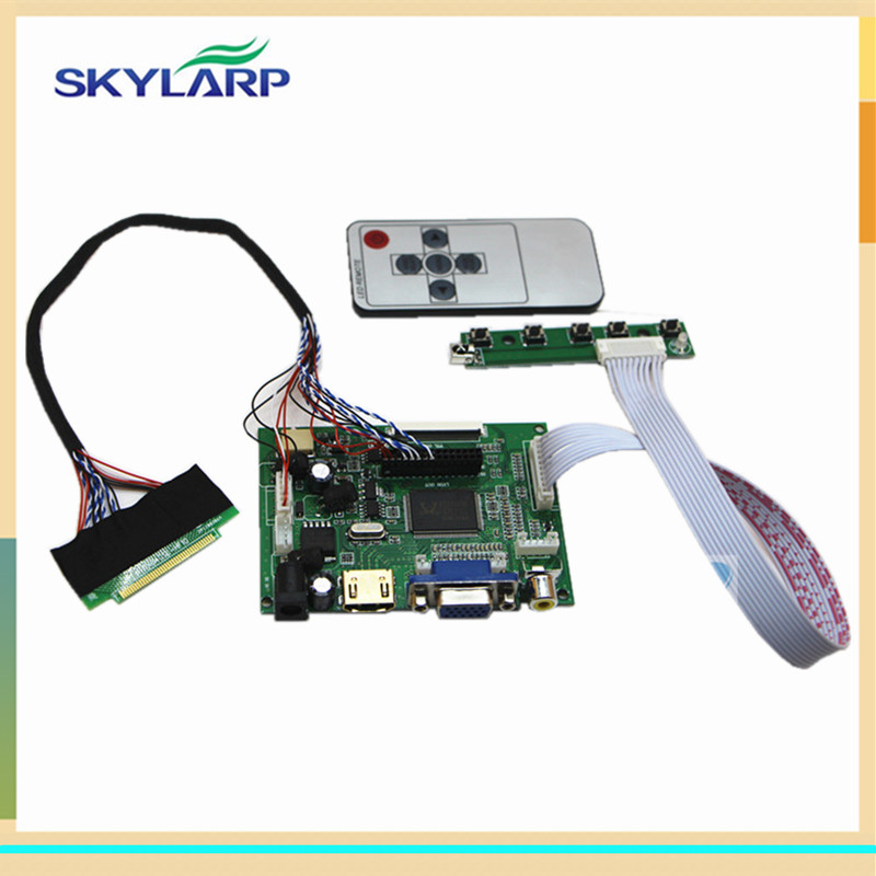 HDMI+VGA+2AV LCD driver board for 9.7inch LTN097XL01 1024X768 IPAD1/2 (without LCD screen)