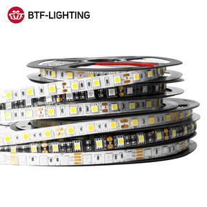 5m DC12V LED Strip 5050 SMD 60LEDs/m Flexible LED Light RGB RGBW 5050 LED Strip Lamp 300LEDs TV Led Ribbon Tape Waterproof