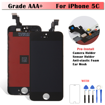 10 Pieces AAA Quality LCD For iPhone 5C Screen Black For iPhone 5G 5S LCD Display Touch Screen Digitizer Assembly Free Shipping