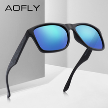 AOFLY BRAND DESIGN Driving Male Sunglasses Men Polarized Sunglasses Square Style Eyewear UV400 Gafas De Sol Masculino AF8106