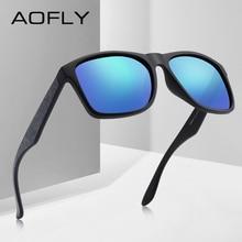 AOFLY ماركة تصميم القيادة الذكور النظارات الشمسية الرجال الاستقطاب النظارات الشمسية مربع نمط نظارات UV400 Gafas دي سول Masculino AF8106