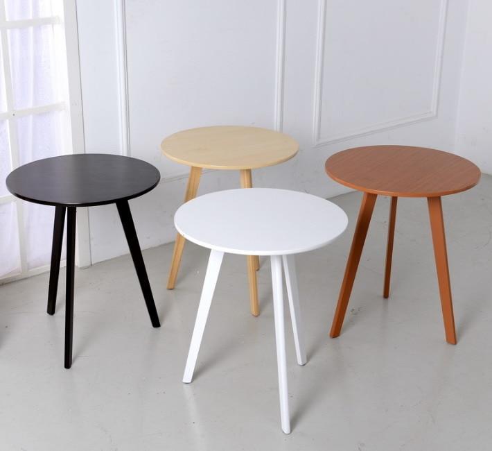 modernes design holz runde beistelltisch minimalistischen tee couchtisch. Black Bedroom Furniture Sets. Home Design Ideas