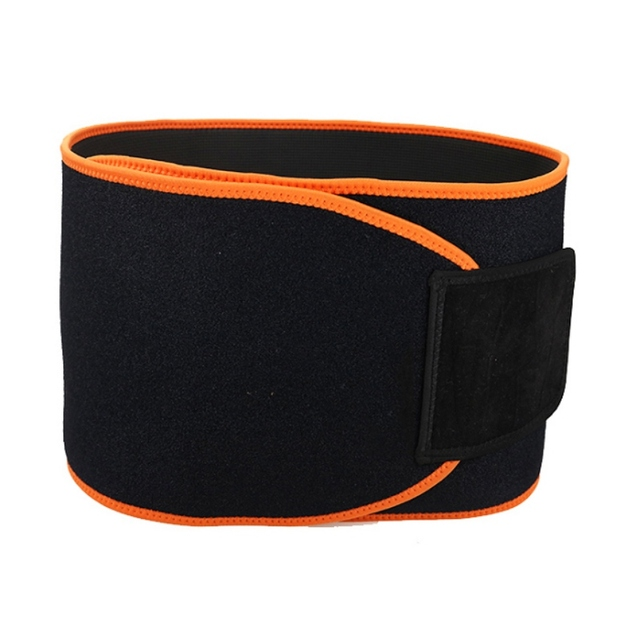 Adjustable Waist Back Support Waist Trainer Trimmer Belt Sweat Belt for Gym Fitness Weightlifting Tummy Slim Belts 3