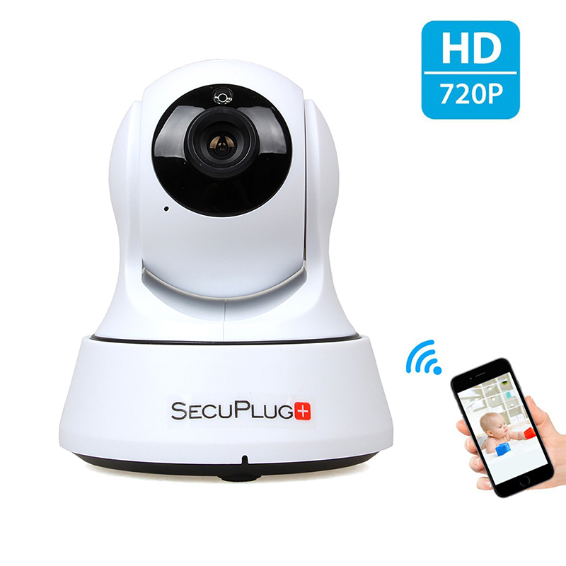 Indoor 720P HD Wi-Fi IP Camera for Baby Monitor with Two-way Audio/TF Card Slot/Night Vision Support Internal speaker easyn a115 hd 720p h 264 cmos infrared mini cam two way audio wireless indoor ip camera with sd card slot ir cut night vision