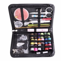 Mini Beginner Sewing Kit Case Set Supplies For Adults Kids Home Travel Campers Mayitr Household Tools