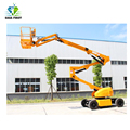 16m Self Propelled Electric Articulating Boom Lift