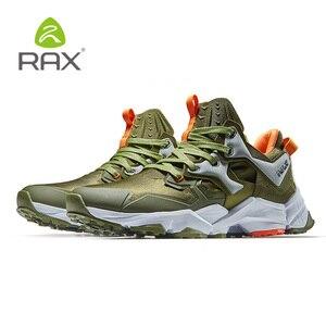 Image 5 - Мужская обувь для походов RAX, легкая Нескользящая амортизирующая Уличная обувь для мужчин, дышащие кроссовки для скалолазания, 423
