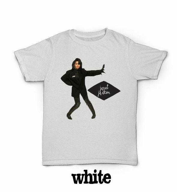 Janet Jackson T-Shirt 90s R&B World Tour Rhythm Nation When I Think of You