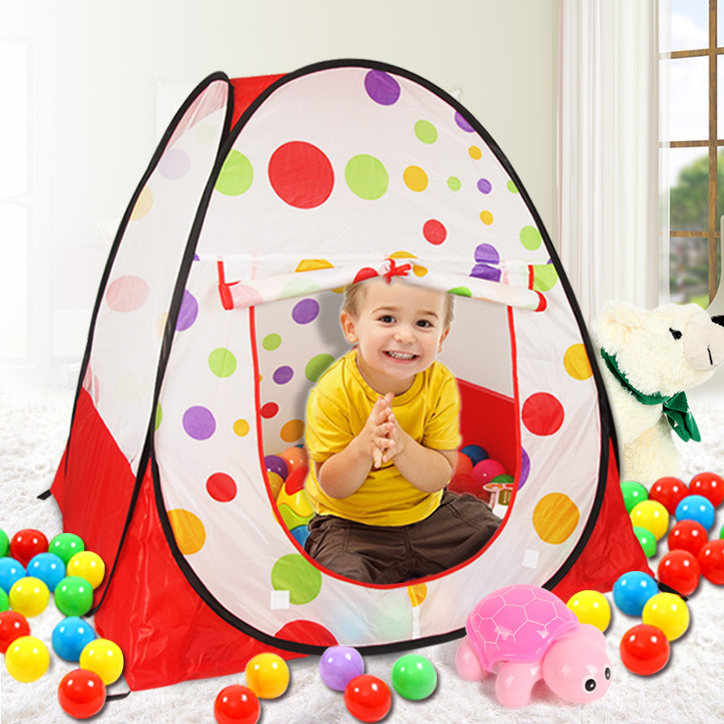 Baby Kids Tents and Playhouses for Kids Ocean Ball Tents Pool Indoor Outdoor Children Beach Tent Pop Up Open Play Tent ZP36