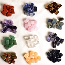 100G Assorted handmade tumbled stone natural material miniature crystal Minerals fountain home decoration accessory