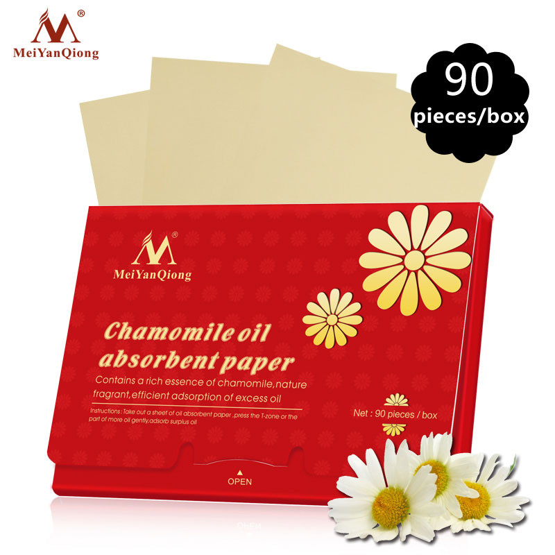Chamomile Oil Absorbent Paper Natural Wood Pulp Fragrant Contains a Rich Essence of Chamomile,Efficient Adsorption Excess