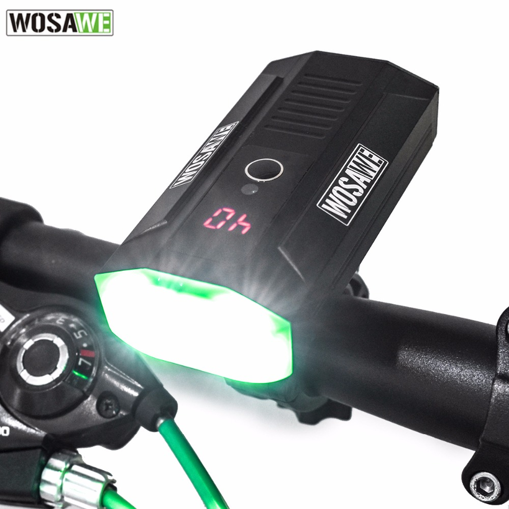USB Rechargeable Bike Light luz bicicleta 5 Modes Waterproof Cycling Handlebar Lamp Bicycle Accessories LED Bicycle