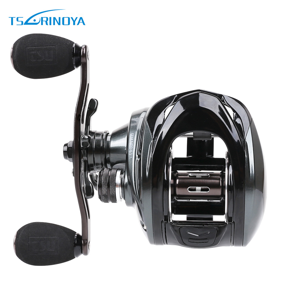 TSURINOYA BRONTOSAURUS 3000 6.3:1 10 + 1BB Left / Right Hand Bait Fishing Baitcasting Reel 12 1bb 6 3 1 left right hand casting fishing reel cnc fishing reels carp bait baitcasting carretilha de pesca molinete shimano