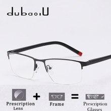 Óculos de metal Prescrição Óptica Lente Bifocal Progressive Photochromic  Anti Azul Claro Óculos de Prescrição Para Homens HQ04-2. 3a8447b209