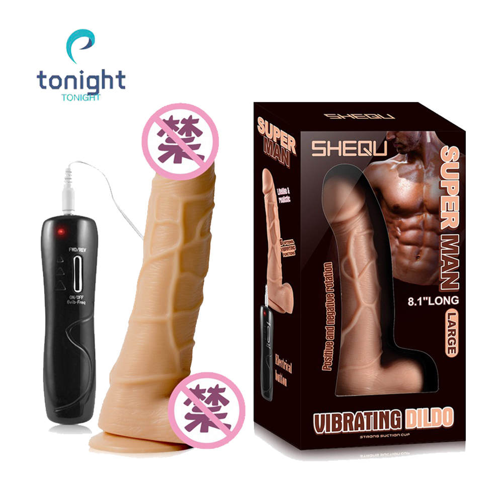 Electric Big Dildo With Shaking Vibrator Realistic Penis Gode Huge Silicones Dildo Remote Control Dick Erotic Toys For Women SexElectric Big Dildo With Shaking Vibrator Realistic Penis Gode Huge Silicones Dildo Remote Control Dick Erotic Toys For Women Sex
