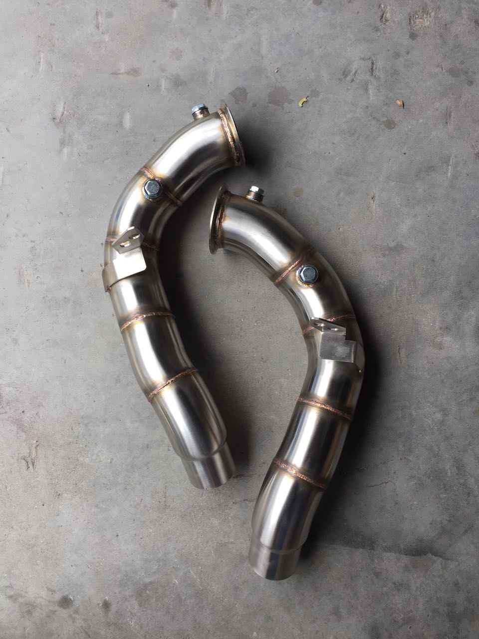 catless downpipe for bmw m5 m6