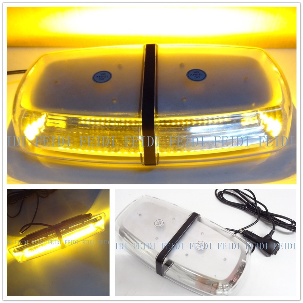 ФОТО 01039 NEW!!!  Car Roof Flashing Strobe Emergency Light  72LED  12-24V 5730 SMD 72LED Warning lights Project light  bar  light