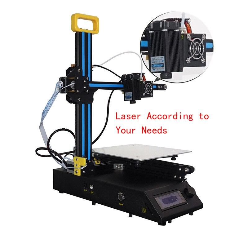 Дешевые сумасшедший Большая распродажа creality FDM 3D печать CR-8 Металл V-слот Рамки 3D-принтеры комплект нити Поддержка принтер 3D лазерного engravin