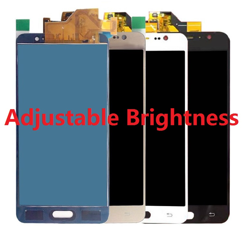For <font><b>Samsung</b></font> Galaxy J5 2016 J510FN J510F J510M J510H <font><b>J510</b></font> <font><b>LCD</b></font> Display Touch Screen Digitizer Not Adjust Brightness Assembly Tools image
