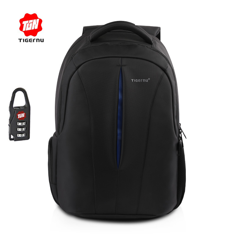 Tigernu Computer Laptop Backpack 15.6 inch USB School Bags Travel Business Backpack Mochila Waterproof Free Gift