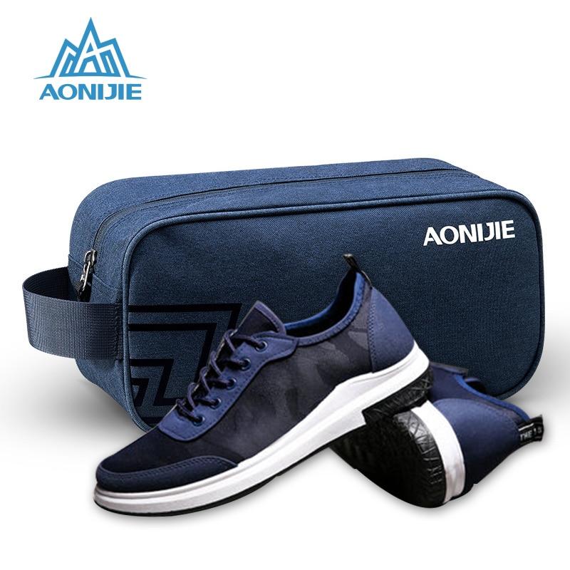 AONIJIE новый складной мешок для обуви Для мужчин Для женщин Спортивные сумки для спортзала нейлон Водонепроницаемый сумка Training Путешествия хранения Портативный сумка для Обувь