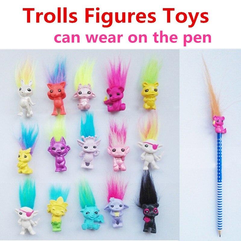 1Pcs Retro Random Vintage Lucky Troll Leprechaun Doll Action Mini Figure Toy