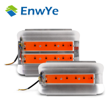 EnwYe 50W 100W Plant growth lamp COB LED Grow Light Phyto Simple floodlight 220V For Plant Greenhouse Hydroponic