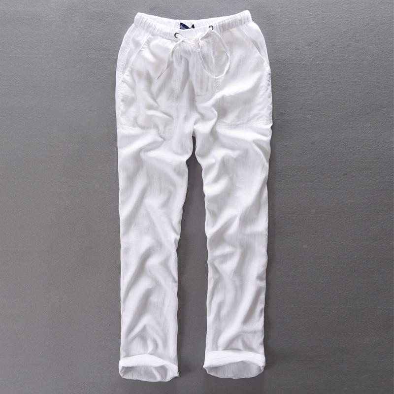 Pantaloni de bumbac pentru bărbați Pantaloni elastici pentru femei - Imbracaminte barbati