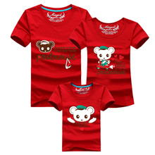 1pcs Mother And Daughter Clothes Ropa Mama e Hija Family Clothes Short Sleeve T-shirt Mom Father Daughter Matching Outfits