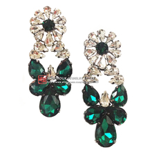New 2015 fashion earring shourouk style all crystal earring design statement shourouk Earrings for women wholesale
