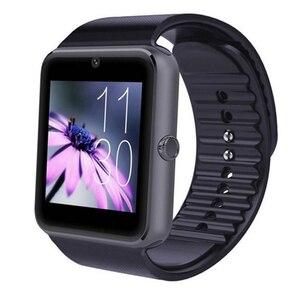 Image 5 - Bluetooth GT08 Smart Touch Screen Orologio Grande Orologio Batteria di Sostegno TF Sim Card Della Fotocamera Smartwatch Per IOS iPhone Android Phone