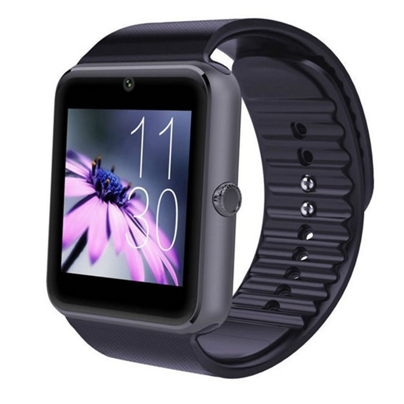Image 5 - Bluetooth GT08 Smart Watch Touch Screen Big Battery Clock Support TF Sim Card Camera Smartwatch For IOS iPhone Android Phone-in Smart Watches from Consumer Electronics