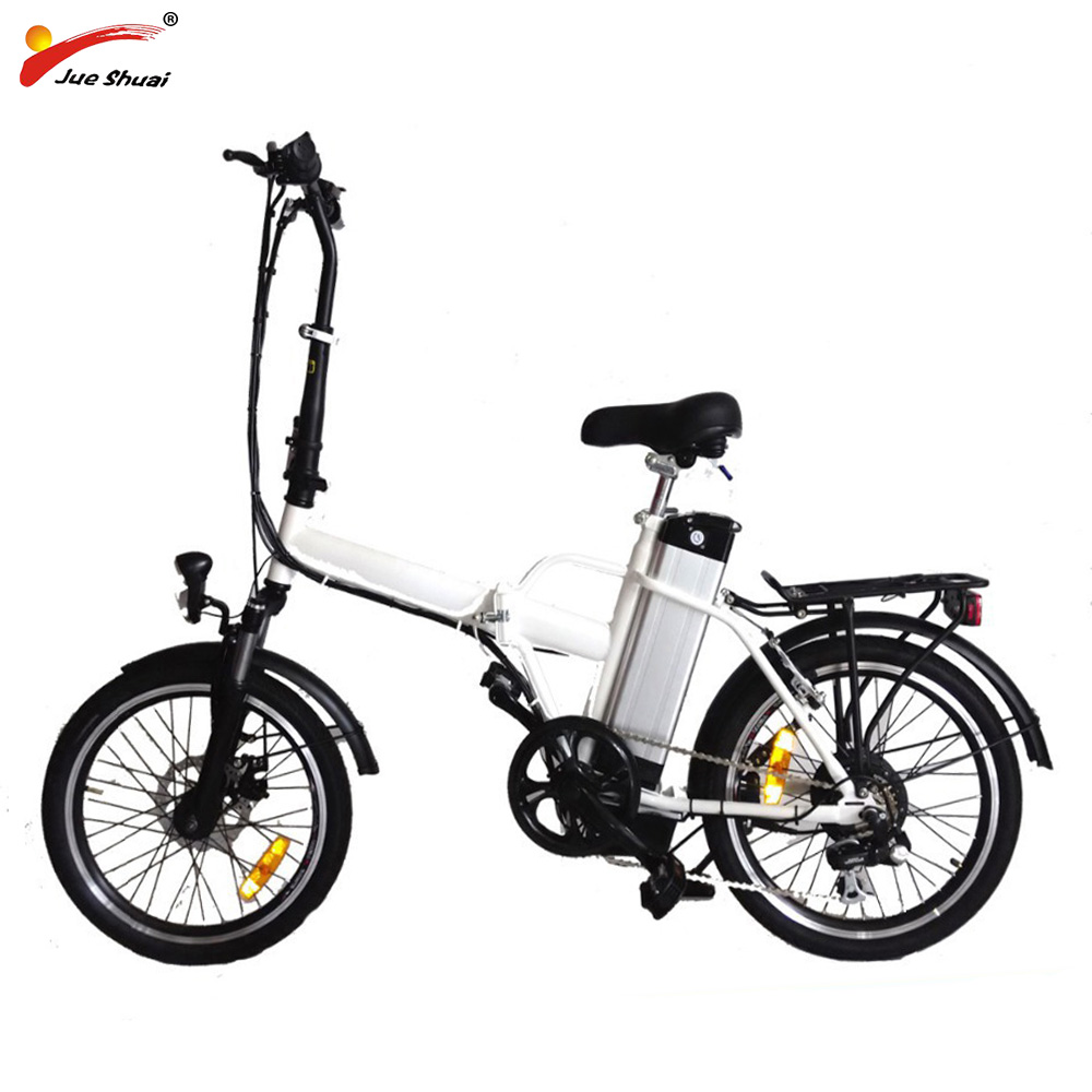 Electric Folding Bike with 250W Brushless Hub Motor 36V 10Ah Lithium Battery Foldable Electric Bicycle Ebike Motorcycle Scooter g force g1 250w 5 inch foldable electric scooter with maple deck only 7 8kg
