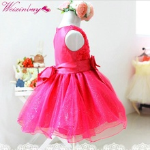 Lovely Girls Layered Fancy Tutu Dress Kids Baby Dancing Ball Party One Piece Dresses цена