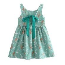 Children Kids Girl Summer Dress Kids Teens Sleeves Printing Pattern cotton dress clothes Vestidos Hot