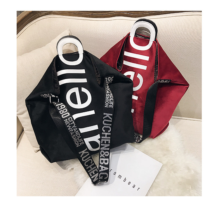 HTB16M8PXyDxK1Rjy1zcq6yGeXXaF - New Large-capacity Velvet Handbag Fashion Lady Letter Shoulder Crossbody Bag High Quality Women's Shopping Bag Tote