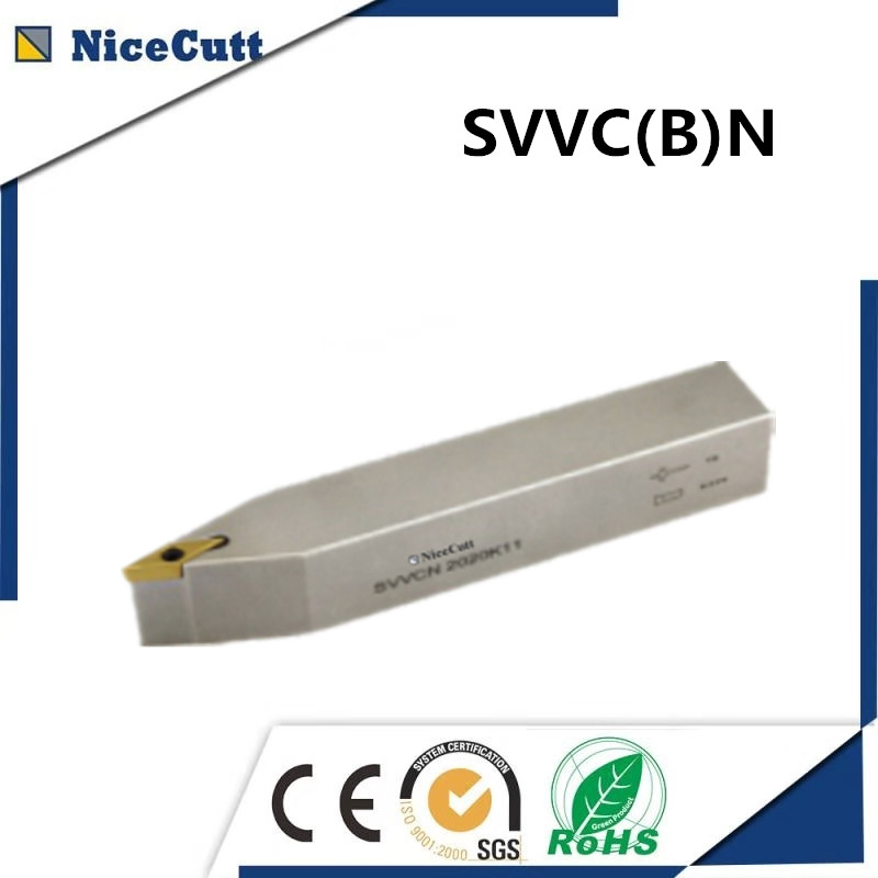 SVVBN 1616/2020/2525 Nicecutt External Turning Tool Holder for VCMT insert Lathe Tool Holder