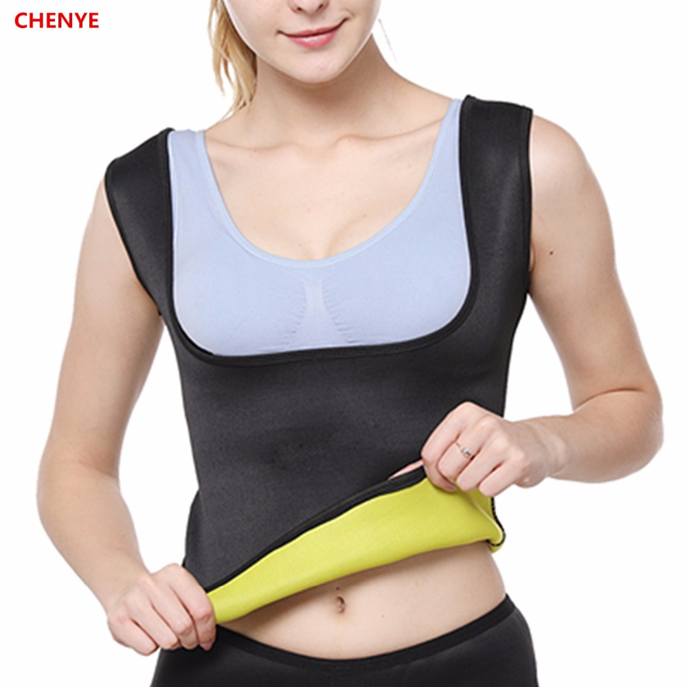 502fa5d2095 Women s Shaper Waist-Trimmer Slimming Shirt New Body Shapers Plus-Size  Thermal Weight-Loss Body Shaper Vest Waist Trainer Corset