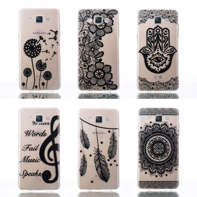 Case For Samsung Galaxy A5 2015 A5000 A500 A500f A 5 SM-A500 SM-A500f Case Soft TPU Shell Back Cover for Sansung Sumsung A5 2015