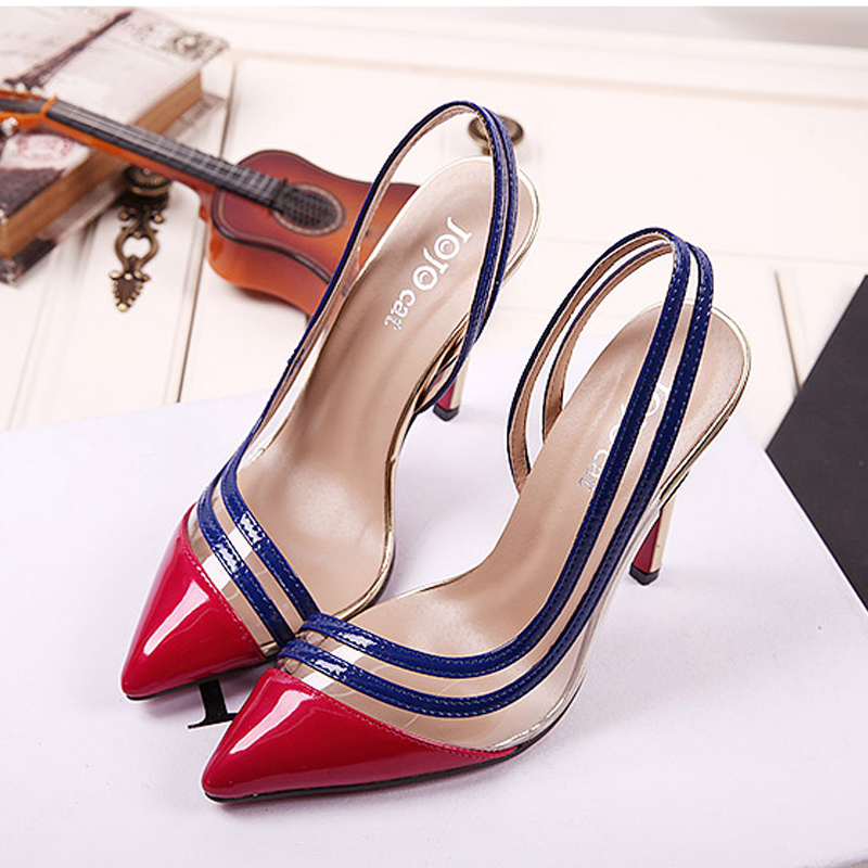 2016 New font b Women b font Pumps Thin High Heel Pumps Shoes For font b