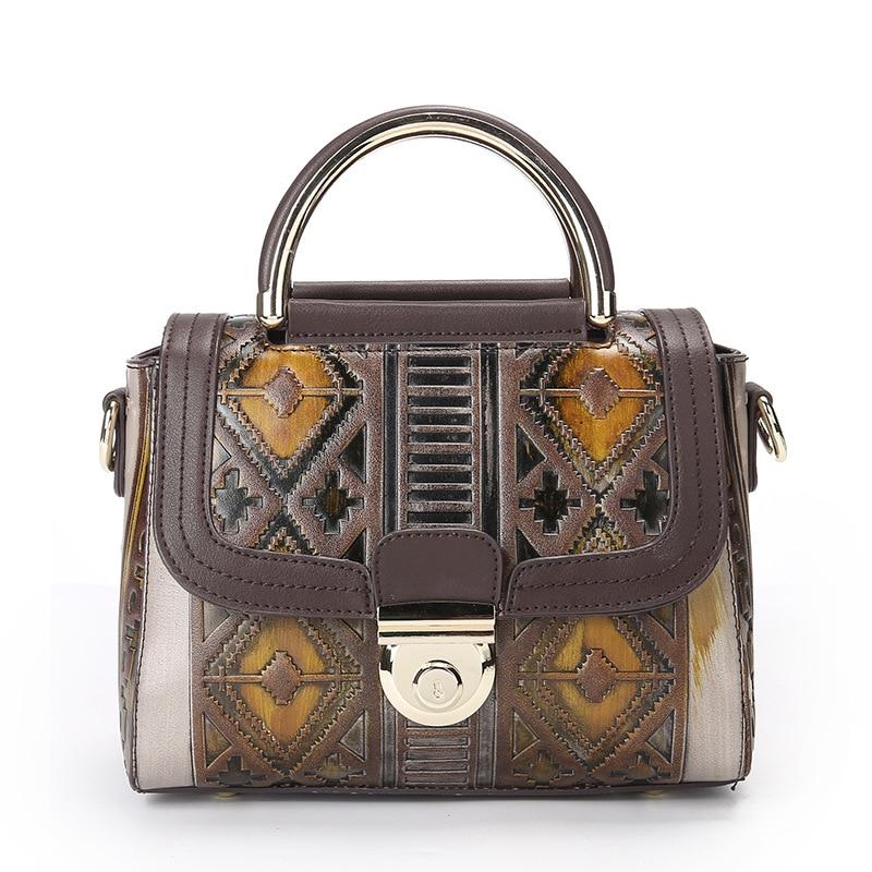 2017 Luxury Brand Women Messager Bags High Quality PU Leather Shoulder Bag  Causal Crossbody Bag Women  Retro Handbags