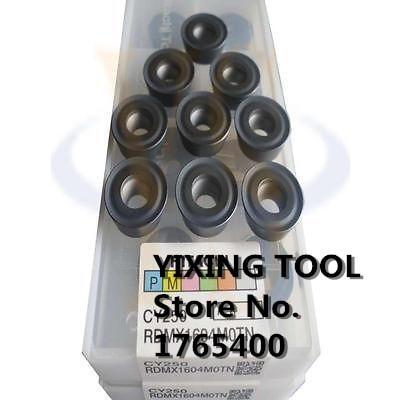 New 10pcs  RDMX1604 MOTN Round Carbide inserts CNC Milling cutters 10pcs mitsubishi tcmt110204 vp15tf carbide inserts