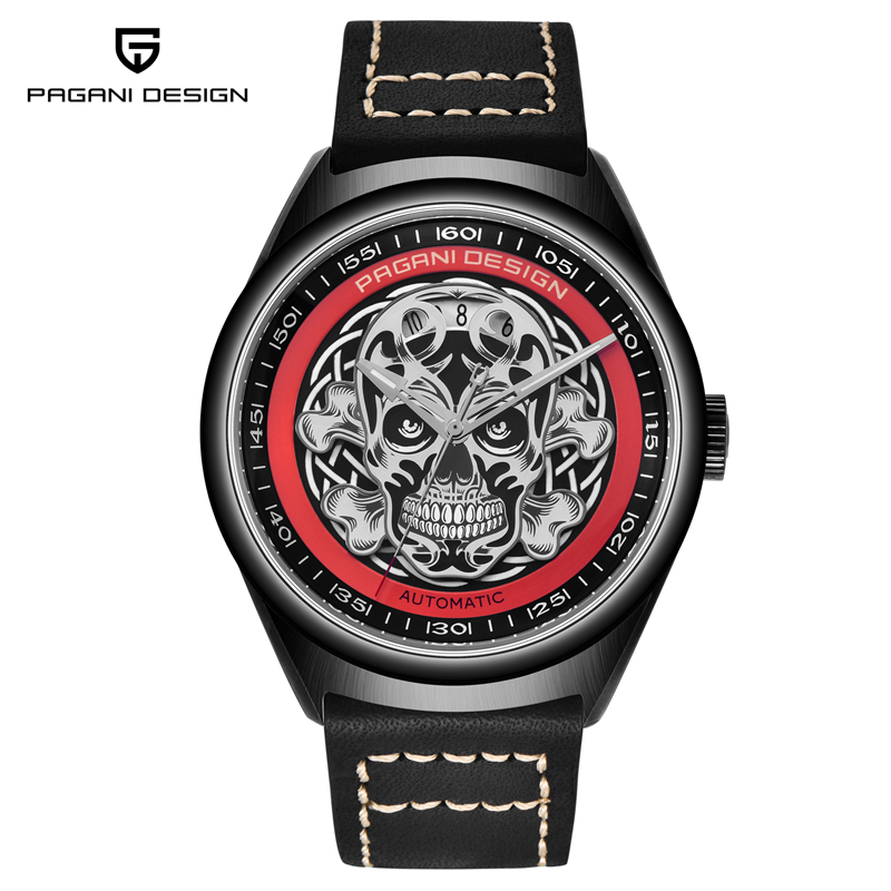 Relogio Masculino PAGANI DESIGN Mens Fashion Mechanical Watch Men Luxury Brand Waterproof Casual Skull Automatic Wrist WatchRelogio Masculino PAGANI DESIGN Mens Fashion Mechanical Watch Men Luxury Brand Waterproof Casual Skull Automatic Wrist Watch