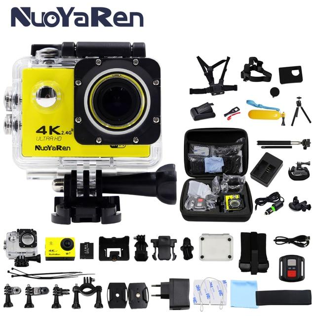 NUOYAREN F60/F60R Action Camera 4K 30FPS Wifi Ultra HD 16MP 30M Waterproof Mini Helmet Cam go bike record pro Sports Camera
