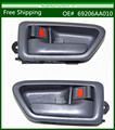 Free Shipping  New Pair Set Interior Door Handle for Toyota Camry / Lexus ES300 Gray 69206AA010